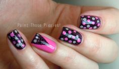 Cute! From Paint Those Piggies!: Bright and Dark