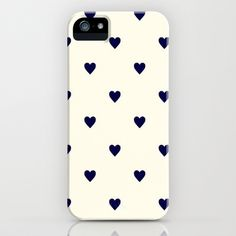 Cute+Hearts+iPhone+Case+iPhone+&+iPod+Case+by+Pink+Berry+Pattern+-+$35.00