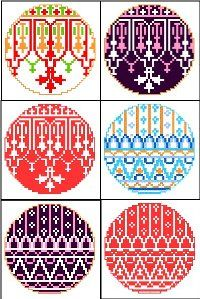 Free Miniature Cross Stitch Patterns | ... projects? Here is a selection of free cross-stitch Christmas patterns