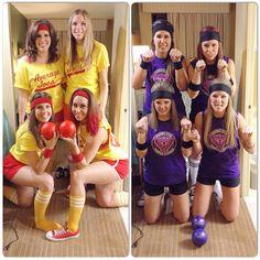 Average joes vs globo gym purple cobras. Halloween costume