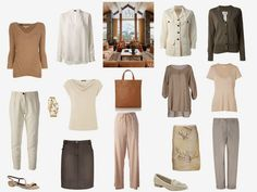 Capsule wardrobe inspired by Art: An Interior from Architectural Digest | The Vivienne Files