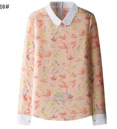 Fall Leaves Floral Top in Vintage Style | ClothesStop