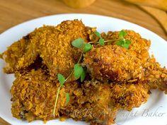 Crsipy Cajun Chicken (baked)