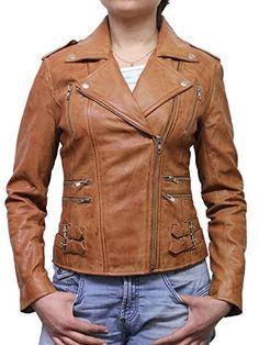 Brandslock Vintage Ladies Women's New Biker Style Fashion...
