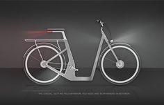 The Casual | Electra - design Alexandra Sakalian - more images on http://on.dailym.net/1RhaUNQ #Alexandra-Sakalian, #Bike, #Elektrisch, #Elektromotor, #Fiets, #Scoot, #Step, #The-Casual--Electra, #Trek-Sponsored-Studio-Fall-2015, #Voertuig