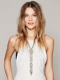 Free People Filagree Beaded Lariot at Free People Clothing Boutique