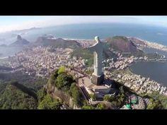 Pirelli, an amazing walk on Christ The Redeemer - (Repairing damage from lightning - YouTube)