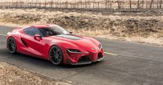 Toyota Reveal The FT-1 Concept That Is Set To Be The 'Supra' and It Is Breathtaking. Hit the image for photos and video...  #Toyotajustgotcool #supercarclub