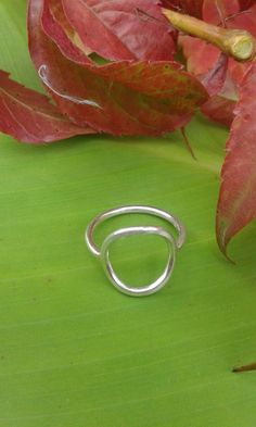 Open circle ring, thin sterling silver ring, simple dainty ring Material: Sterling Silver wire Band thick: 1.20 mm Inside Circle: 10.00 mm Outside Circle: 14.00 mm All jewelry comes in a pretty bag or a gift box, ready to give, carefully shipped in a bubble wrap mailer. PROMOTION: