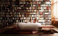 Le célèbre designer japonais Kenya Hara s'est associé à la société LIXIL, fournisseur de mobilier, pour créer cette baignoire hallucinante.