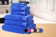 7pc Luxury Egyptian Cotton Towel Bale - 6 Colours!