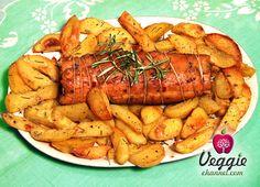Roast of seitan by Nonna Veggie #veganfood #veganrecipe #veganfoodshare