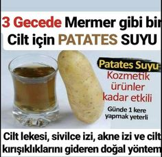 Patates Maskesinin Cilde Faydaları – Diyet Yemekleri – Las recetas más prácticas y fáciles Health And Wellness, Health Fitness, Natural Acne Treatment, Healthy Muffins, Stay Young, Natural Health Remedies, Homemade Beauty Products, 2 Ingredients, Beauty Care