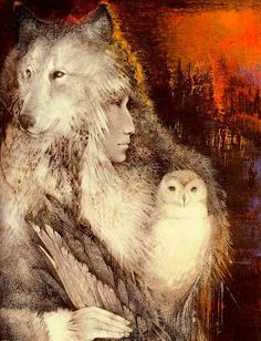 art of the beautiful-grotesque: The Art of Susan Seddon Boulet