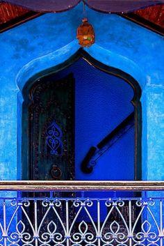 The Blue City III by Damienne Bingham by Blaze Masters
