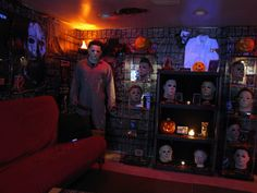 Horror Woman cave