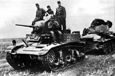 Captured US lend-lease M3 Stuart Light Tank by Hungarian Army
