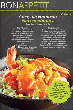 No te pierdas las recetas que Bon Appétit preparó para ti esta semana Curry, Curries