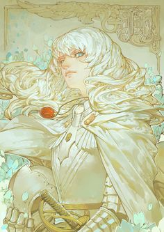 Berserk - Griffith by Hunsay ✤ || CHARACTER DESIGN REFERENCES | キャラクターデザイン | çizgi film • Find more at https://www.facebook.com/CharacterDesignReferences & http://www.pinterest.com/characterdesigh if you're looking for: bandes dessinées, dessin animé #animation #banda #desenhada #toons #manga #BD #historieta #sketch #how #to #draw #strip #fumetto #settei #fumetti #manhwa #anime #cartoni #animati #comics #cartoon || ✤