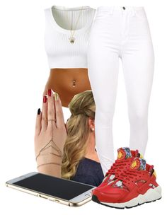 """""""8-21-15"""" by janay1206 ❤ liked on Polyvore featuring Alaïa and NIKE"""