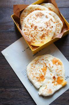 [簡単!] 捏ねない発酵なしの♪チーズ丸ナン と チキンとほうれん草のトマトカレークリームスープ   珍獣ママ オフィシャルブログ「珍獣ママのごはん。」Powered by Ameba