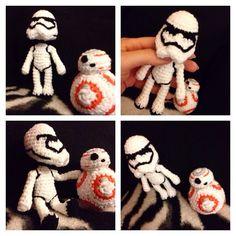 Best Friends  #crochet #starwars #stormtrooper #bb8 #starwarsfanmade #handmade #handarbeit #häkeln #häkelpuppe #crochetdoll #sturmtruppler #amigurumi #amigurumibb8 #amigurumistarwars #crochetstarwars #starwarsstuff