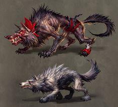 wolves by *michalivan on deviantART