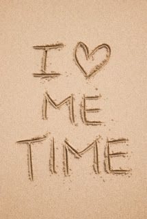 I <3 ME time      Love being with my kids, and my brief me time helps me recharge to be more present and pleasant with them