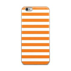 Orange Stripes iPhone Case by CoolFunAwesomeTime on Etsy @etsy @printful #etsy #printful #phone #phonecase #fashion #style #stripes #modern #pattern #geometric #geometricpattern #stripedpattern #abstract #abstractpattern #classic #chic #tech #products #buy #shop #shopping #sale #orange #orangestripes #color #colorful