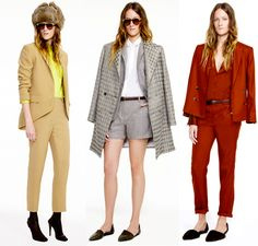 Jenni Kayne gently embraces androgynous overcoats & matching separates to make her Fall 2012 completely cool & classic.