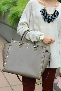 michael kors purse black and white #michael #kors #purses My MK bag. Love it! mk just need $66.99||!!