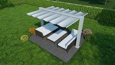 Garden Privacy Screen, Large Backyard, Outdoor Furniture Sets, Outdoor Decor, Outdoor Areas, Gazebo, Outdoor Living, Outdoor Blanket, House