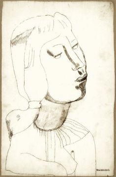 Louise Bourgeois, Self Portrait, 1938.