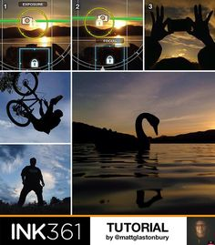 Mobile Photography Tutorial - Creating Silhouettes