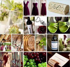 Wine inspired wedding board... delicious!!