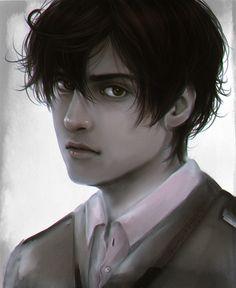 Kinda realistic Lovino Vargas by AkariMarco