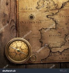 Resultado de imagen de vintage compass