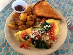 The stuffed eggs at Buzzbrews, otherwise known as an omelette Stuffed Eggs, Omelette, Dallas, Mexican, Restaurant, Dining, Eat, Ethnic Recipes, Food