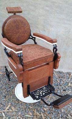 Vintage Emil J Paidar Barber Chair 1000 00 My Dad S