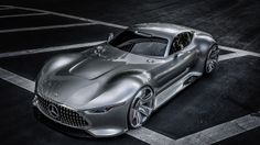 Mercedes-Benz just unveiled its latest supercar (which was teased yesterday), the AMG Vision Gran Turismo, but we'll never have the chance to see it on the road. That's because it's a virtual supercar that was designed for the world of Gran Turismo 6, the latest installment in Sony's premier racing game for the Playstation 3. However, it was made into a 1:1-scale model to celebrate the opening of Mercedes-Benz Research & Development Center in Sunnyvale, CA on Nov. 19, so t...