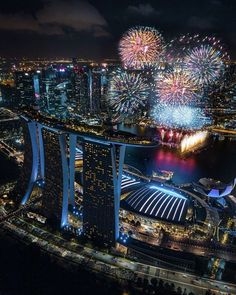 Fire Works, Night Photography, Marina Bay Sands, Singapore, Congratulations, Neon, Earth, Lights, Concert