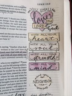 Luke10:27 [credit to A.Wakefield, FB]