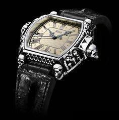 "Daniel Strom ""Agonium"" Memento Mori, Carpe Diem Watch: Most Expensive Goth Garb Ever"