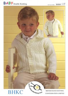 Pattern Jackets Double knitting pattern 0 - 2yrs 41-56cm 16-22in Thank you for looking at our items Please remember we can supply anything for all