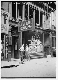 Lanier Hotel, Midtown, 1925