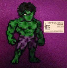 http://amber--lynn.deviantart.com/art/Hulk-Perler-Bead-Design-479123499