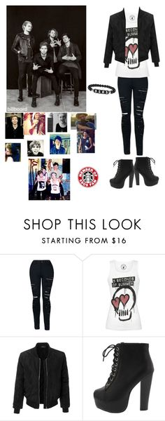"""5SOS ❣️"" by anneso88 ❤ liked on Polyvore featuring CO and LE3NO"