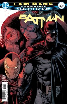 "Art by: David Finch Covers David Finch Variant cover by: Tim Sale Written by: Tom King U.S. Price: 2.99 On Sale Date: Feb 15 2017 Page Count: 32 ""I Am Bane"" part two! Barricading himself within the walls of Arkham Asylum still might not keep Batman and his allies safe from Bane's assault. Which... batman, David Finch, dc, DC Comics, Preview, Tim Sale, Tom King"