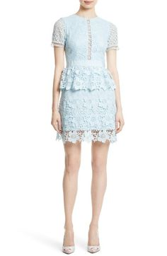 Ted Baker London Dixa Layered Lace Skater Dress available at Ted Baker Kleid, Ted Baker Dress, Floral Lace Dress, Pink Dress, Lace Outfit, Tiered Skirts, Fall Dresses, Pretty Dresses, Evening Dresses