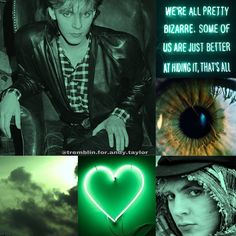 My edit.. mood board Nick Rhodes